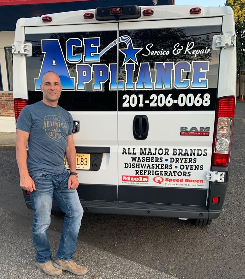Ace Appliance Repair, Inc. - Appliance Repair Truck